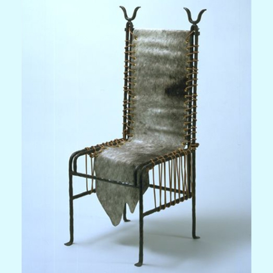 Barbare Chair, Elisabeth Garouste and Mattia Bonetti, 1981