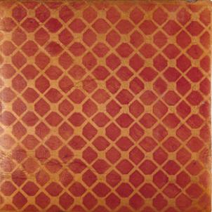 Terracotta Tile: Fired Earth / Atlas / Trellis Dot / Cinnamon