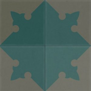 Cement Tile: Cle Tile / Gothic / Teal