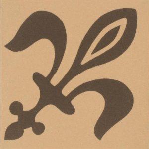 Ceramic Tile: Original Style / Darwin / Brown on Buff