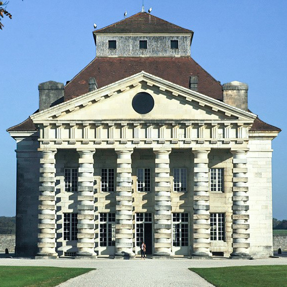 Royal Saltworks of Arc-et-Senans, Claude-Nicolas Ledoux, 1779